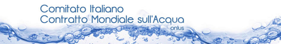 Comitato Italiano Contratto Mondiale sull'acqua - Onlus - logo